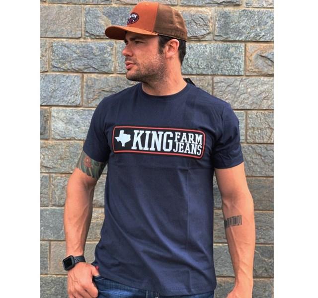 Camiseta King Farm Azul Marinho GCM37