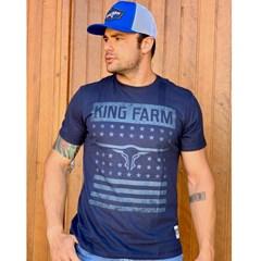 Camiseta King Farm Azul Marinho GCM38