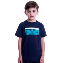 Camiseta King Farm Azul Marinho Infantil KF-05-KIDS