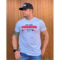 Camiseta King Farm Branco GCM315