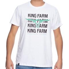 Camiseta King Farm Branco GCM319