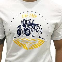 Camiseta King Farm Branco KF77