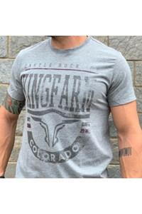 Camiseta King Farm Cinza Mescla GCM150