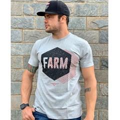 Camiseta King Farm Cinza Mescla GCM160