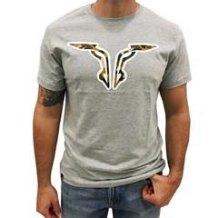 Camiseta King Farm Cinza Mescla KF89