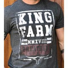 Camiseta King Farm Grafite GCM04