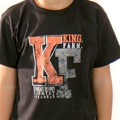 Camiseta King Farm Preto Infantil KF-01 KIDS