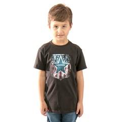 Camiseta King Farm Preto Infantil KF-09 KIDS