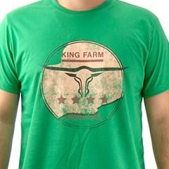 Camiseta King Farm Verde GCM20