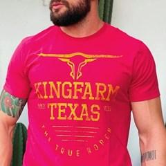 Camiseta King Farm Vermelho GCM13