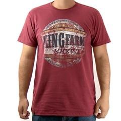 Camiseta king Farm Vinho GCM05