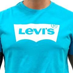 Camiseta Levi's Azul Claro/ Branco LB0010290