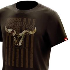 Camiseta Marruco Marrom Escuro C-0041