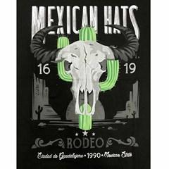 Camiseta Mexican Shirts Buffalo Preta