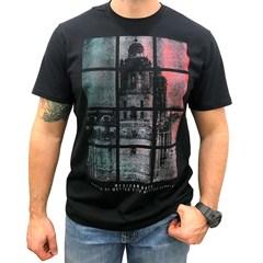 Camiseta Mexican Shirts Capital City Preto