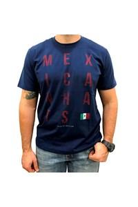 Camiseta Mexican Shirts Culture Azul Marinho