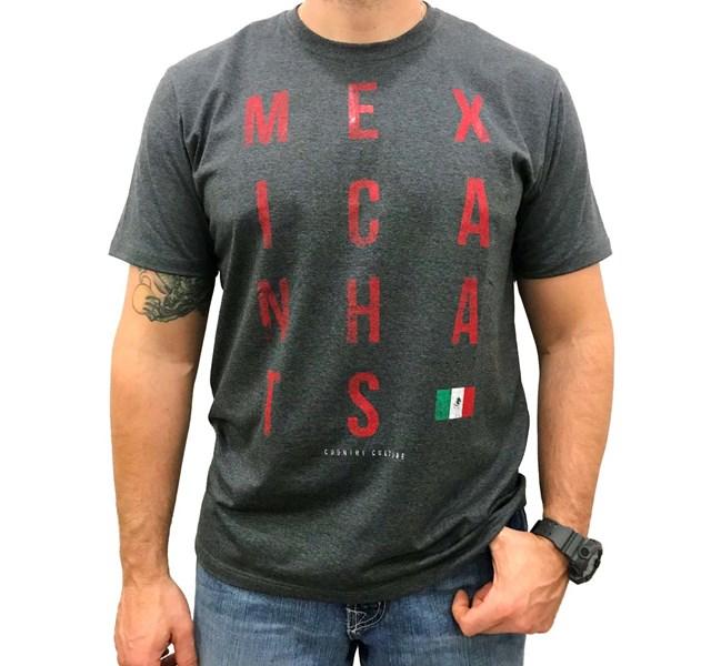 Camiseta Mexican Shirts Culture Chumbo