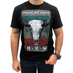 Camiseta Mexican Shirts Dry Head Preto