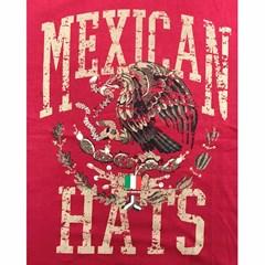 Camiseta Mexican Shirts Eagle Vermelho