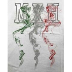 Camiseta Mexican Shirts Fire Mexican Branca