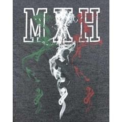 Camiseta Mexican Shirts Fire Mexican Grafite