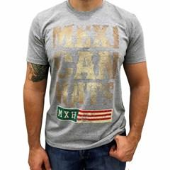Camiseta Mexican Shirts Rustic Mexican Cinza Mescla
