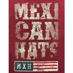 Camiseta Mexican Shirts Rustic Mexican Vermelho