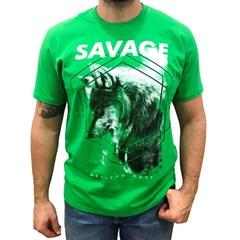 Camiseta Mexican Shirts Savage Verde