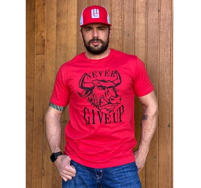 Camiseta Never Give Up GM34