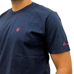 Camiseta Ox Horns Azul Marinho 8007