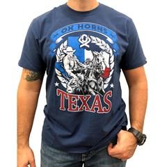 Camiseta Ox Horns Azul Marinho/ Estampa 1199
