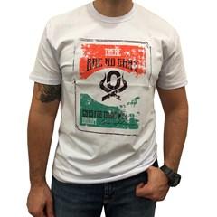 Camiseta Ox Horns Branco/ Estampa 1205