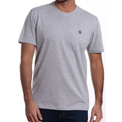 Camiseta Ox Horns Cinza Mescla 8004