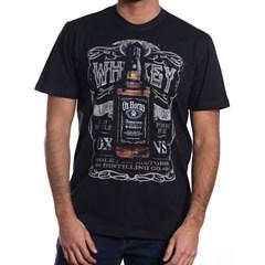 Camiseta Ox Horns Preto/Estampa 1065