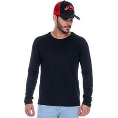 Camiseta PBR Preta com Tecnologia Térmica Manga Longa PBR053 ... 0bafdfda9ad
