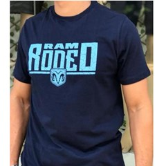 Camiseta Radade Silk Ram Azul Marinho