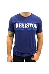 Camiseta Resistol Azul T00248
