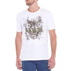 Camiseta Tassa Branco/ Estampa 4237.1