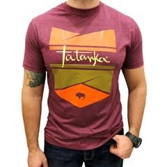 Camiseta Tatanka Vermelho Queimado/Estampa 712