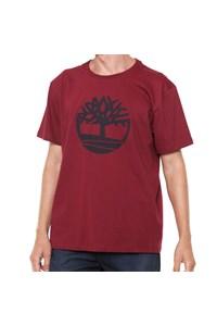Camiseta Timberland Bordô TB0A1THYM49