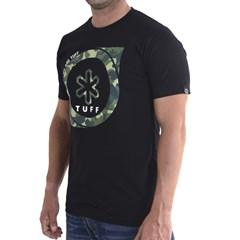 Camiseta Tuff Black Camo Medal Preto