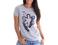Camiseta Tuff Feminina Feather Mix