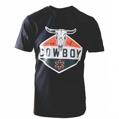 Camiseta Tuff Long Horn Preto