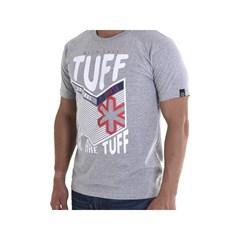 Camiseta Tuff Stripe Grade Gray Cinza Mescla