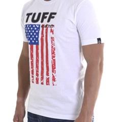 Camiseta Tuff USA Flag Branco