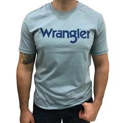 Camiseta Wrangler Azul Claro WM58522