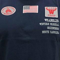 Camiseta Wrangler Azul Marinho 71A37N9044