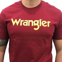 Camiseta Wrangler Bordô WM58522