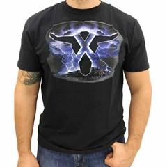 Camiseta Wrangler Preto/Estampa 71A42N9984