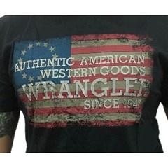 Camiseta Wrangler Preto/Estampa G19.83.98.40